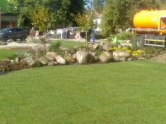 Úprava zelene – fontána Zlatý Bažant Kežmarok